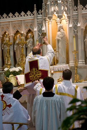 St. Joseph the Worker Solemn High Mass (and St. Augustine Schoeffler Relic)