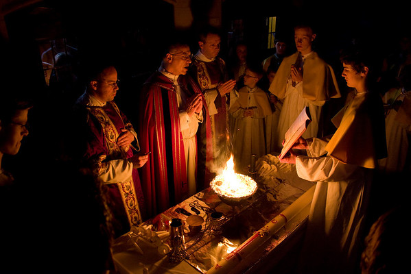 Easter Vigil 2009 in Extraordinary Form at Assumption Grotto
