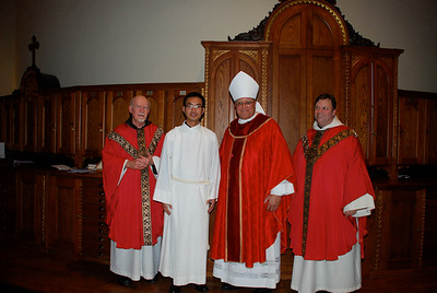 Eleven Installed to Ministry of Acolyte