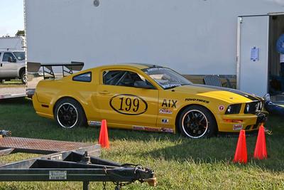 NASA AI Mustang #199 at Putnam Park & Mid-Ohio