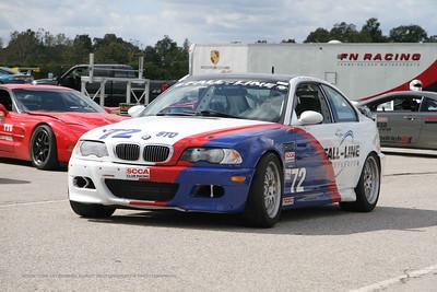 NASA GTS4 BMW E46 M3 #72 @ Putnam Park