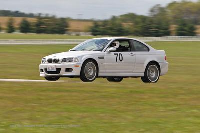 NASA HPDE BMW E46 M3 #70 @ Putnam Park