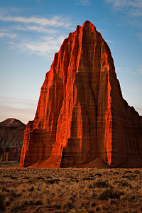 Temple of the Sun Lower Cathedral Valley, Capitol Reef National Park, Utah