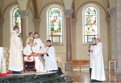 2009 Ordination of Joseph Adams to the priesthood.