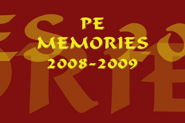 2008-2009 PE Memories Part 1