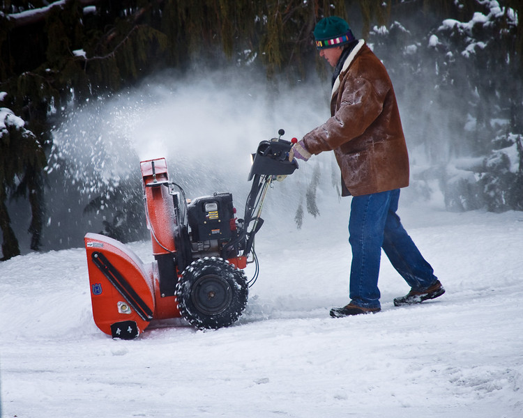 Drone of Snowblowers