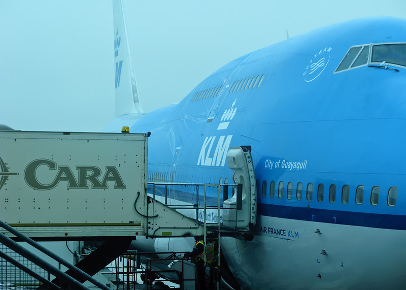 Hungry? Fly KLM!