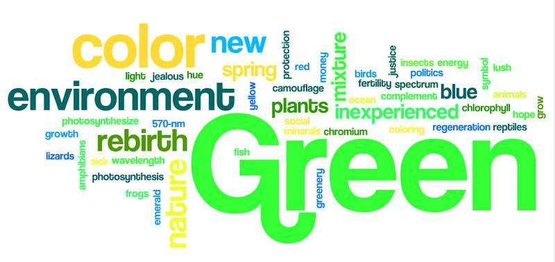 March Theme - Think Green!
