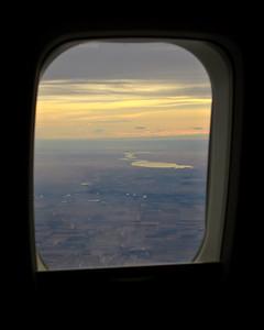 Descending into Calgary, Alberta