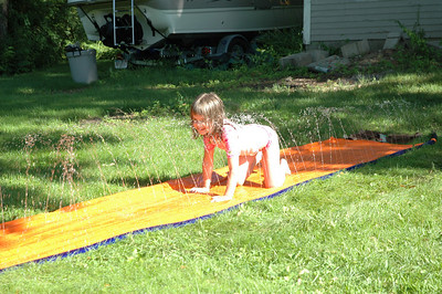 2009 July Slip and Slide