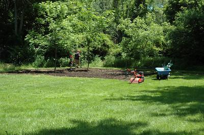 2009 June Building Garden