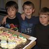 JD's Train Birthday Cake