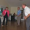 Gloria, Brenda Joyce, Eulion Ray, and Lloyd Ray putting down some steps