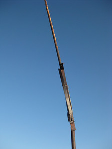 Old flagpole