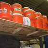 Anyone found guilty of putting back gatorade jugs without cleaning will be forced to drink the stuff.  Ugh!