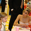 ballet teacher chatting with the kids