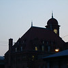 I love this photo Erin took when we went to the Purple Martin Festival.  It's of the Main Street Station.