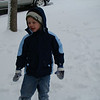 Aidan loved the snow.
