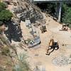07/08 Extending the rock wall