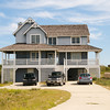 Our cottage in October 2009 - Lord of the Sea, 5705 S. Virginia Dare Trail, Nags Head, NC. Located near 14.5 MP. Handled by Village Realty.