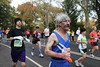 Charli Long, near mile 24, 2009 NYC marathon