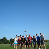 9:00 group and a plane<br /> <br /> Photo by Dave Eubanks