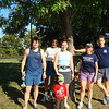 10:20 group on Old Town run<br /> Photo by Dave Eubanks
