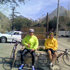 In front of Mt. Baldy Post Office