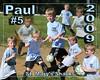 Paul's soccer poster 16x20