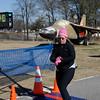 Claude captured Donna at finish of Avaition Half Marathon 17 Jan 09