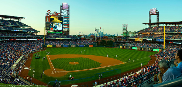 Phillies Game - Cliff Lee shutout