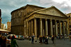 It's the Pantheon, where Raphael is buried and a modern wonder.