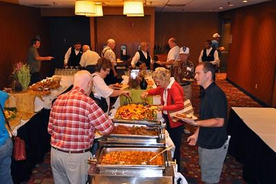 Buffets, Meetings and Mass