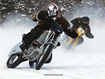 2009-02-01 Terrance Bay ice racing