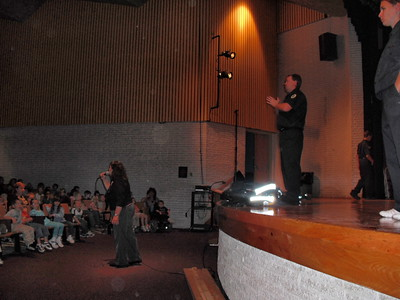 MAHANOY AREA MIDDLE SCHOOL FIRE PREVENTION 10-7-2009