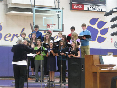'09 Berkshire Jr./Sr. Holiday Choir Program