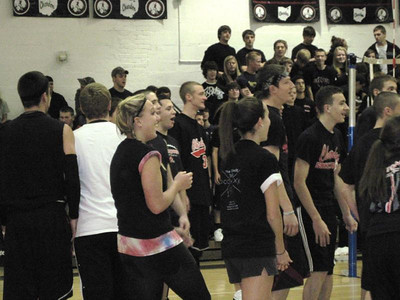 Chardon Seniors-Faculty Volleyball