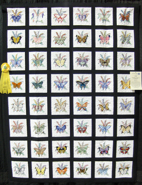 Judge's Recognition<br /> Elizabeth's World of Butterflies<br /> Sylvia Clary