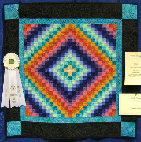 Third Place<br /> No Solid Ground<br /> Vicki Zoller