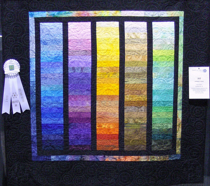 Best Hand Quilting<br /> Chinese Coins<br /> Vicki Zoller