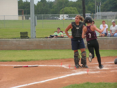 PICT4139 Chelsea Eube  scored a run against the lady metros 8-15