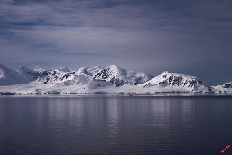 Antarctic peninsula.  Pristine beauty in quiet grandeur.