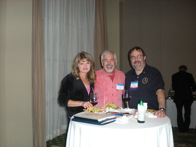 Sherry Stevens, Kenny Goodman and Marty Davidoff