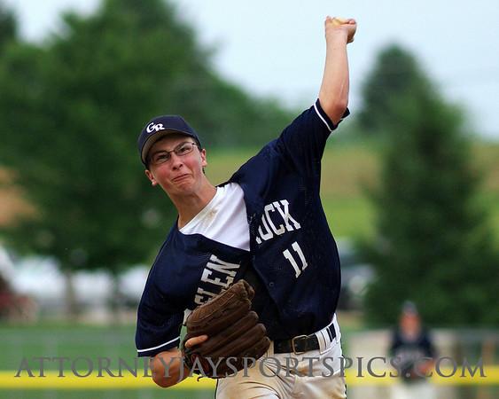 """Christopher """"Cody"""" Ensor, Glen Rock American Legion. From Baseball 2009 06 07"""