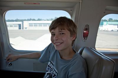 Dlyan before takeoff