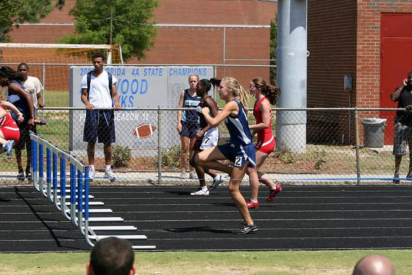 Hurdles- 2009 3A District 10 Track