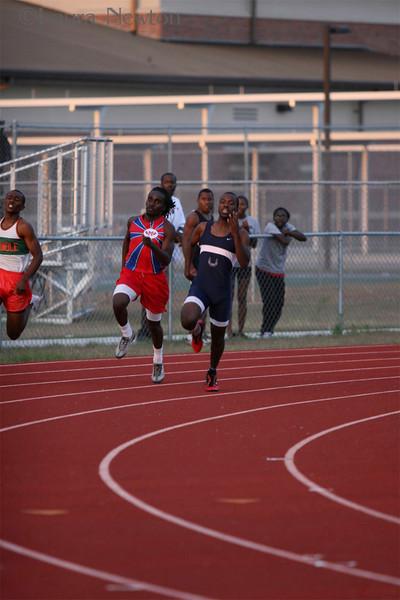 Sprints- 2009 3A Region 3 Track