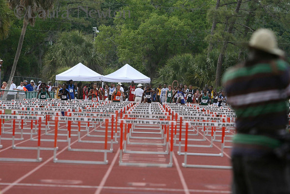 Hurdles- 3A State Track