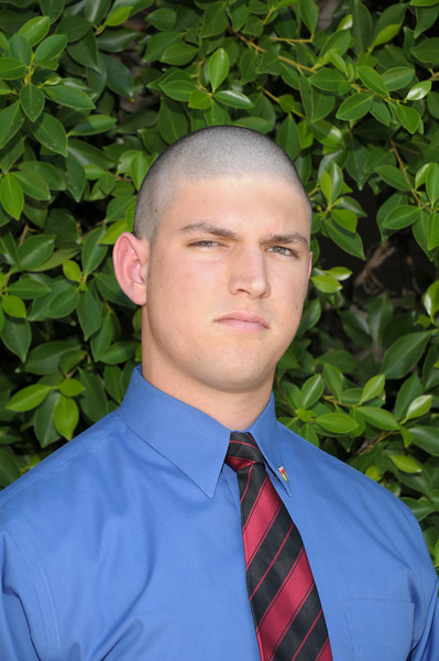 """Name:Austin Pietrobono<br /> Graduation Year: 2010<br /> Jersey Number:68<br /> Position: OG<br /> Height:6'1""""<br /> Weight:230<br /> Bench Max:245<br /> Squat Max:320<br /> Power Clean Max:210<br /> Parent(s):Michael Pietrobono, Kathryn Steidle<br /> Siblings: Sam Pietrobono<br /> Brophy Activities/Clubs:Nationa Honors Society, Yearbook Staff<br /> Favorite Book:Fight Club<br /> Favorite Movie:FNL<br /> Favorite all time NFL Player:Lyle Sendlein"""