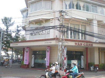 Hospital near Ben Than down to the Ben Nghi Canal - Restaurant at 219/13 Pham Ngu Lao